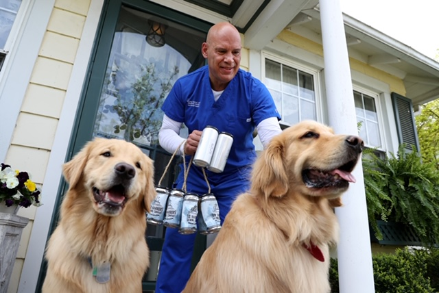 These Dogs Will Deliver Beer to Your Door
