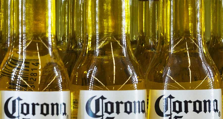 Corona beer halts production during coronavirus pandemic